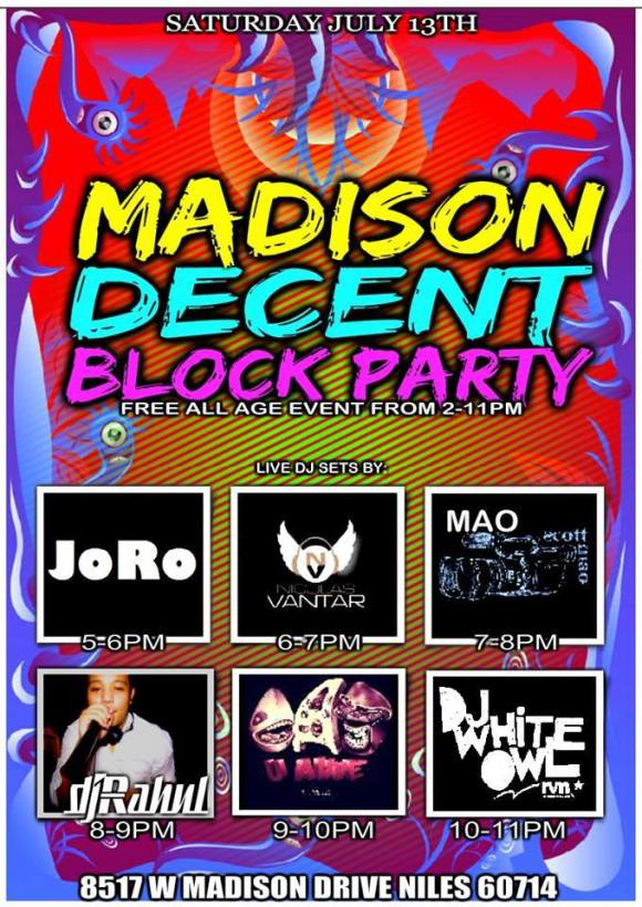 Madison Decent Block Party